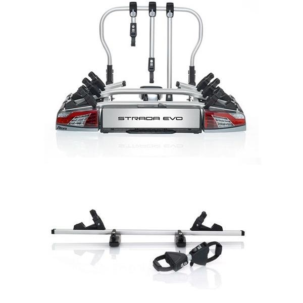 ATERA Strada Evo 3 Fahrradträger 022701 für 4 Räder 3+1