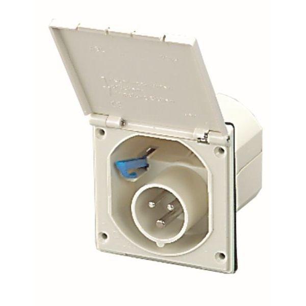 Ersatzdeckel FAWO zu CEE Einspeisungsstecker 104 mm