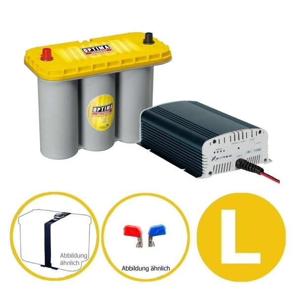 Power Energy Set 75 Ah YELLOW L Optima Xenteq