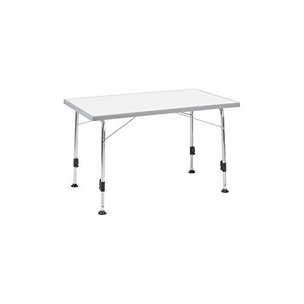 Campingtisch DUKDALF Stabilic III Tisch 115 x 70 cm hellgrau
