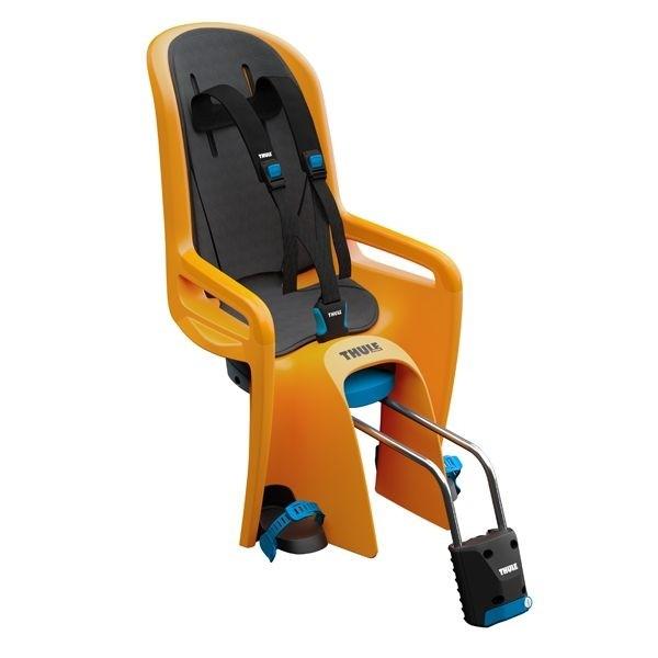 THULE RideAlong Fahrrad Kindersitz zinnia Montage Rahmen