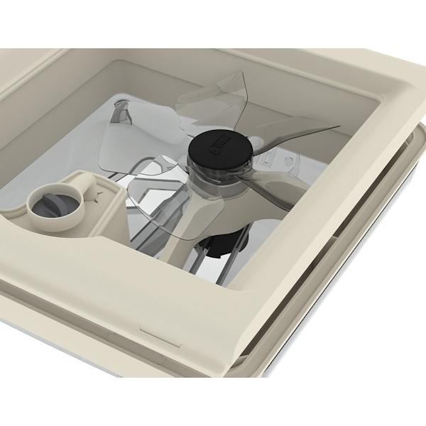 Ventilator Kit FIAMMA Turbo Vent 28 F für Dachhaube
