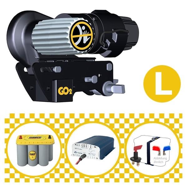 Truma Mover Go2 Rangierhilfe mit Power Set Yellow L