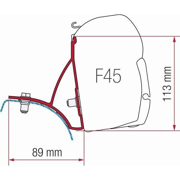 Adapter FIAMMA Kit Renault Trafic Opel Vivaro für F45 F70 ZIP