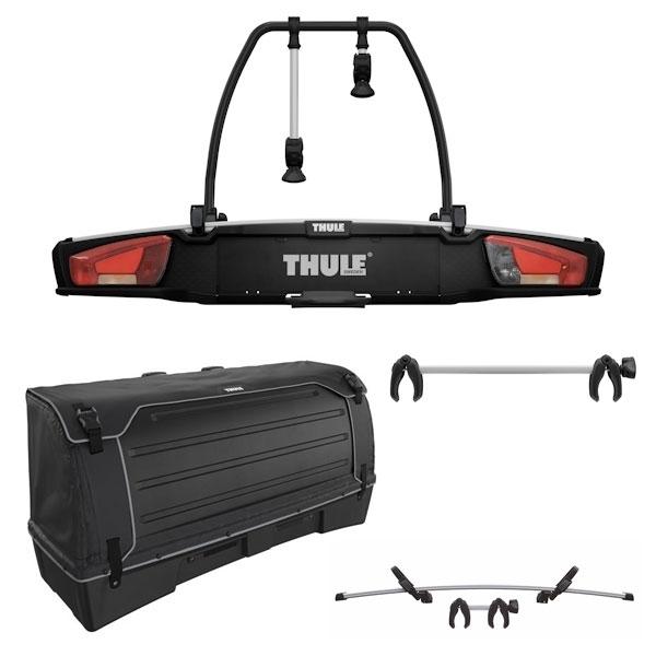 THULE 938 VeloSpace XT 2 Fahrradträger Set inkl. 9383 Heckbox 9381 Erweiterung