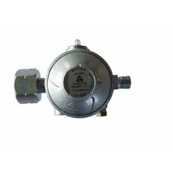 Gasdruckregler 50 mbar 2 stufig Gewerberegler mit Überdruck Sicherheitseinrichtung