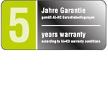 AL-KO 5 Jahre Garantie