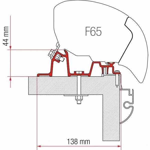 Adapter FIAMMA Kit Hobby Premium für F80 F65