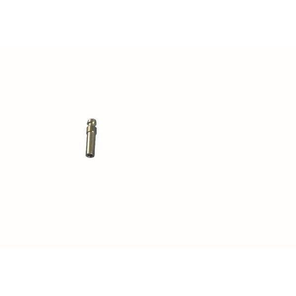 Gas Stecktülle mit Rohrstutzen 8 mm