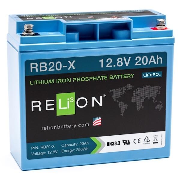 RELiON RB20 X Lithium Ionen Akku Batterie Deep Cycle 20 Ah