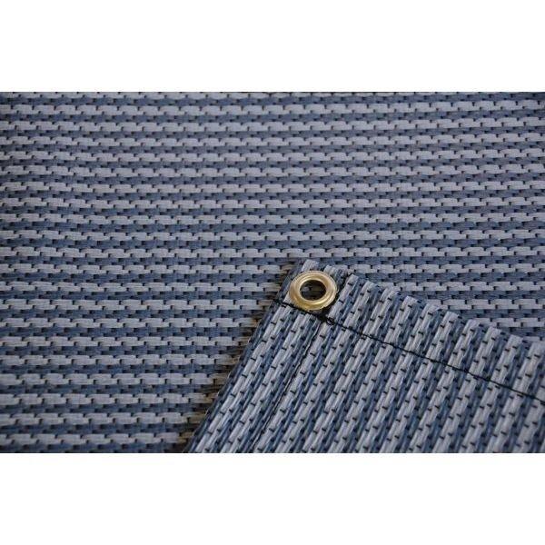 Zeltteppich Premium blau 250 x 400 cm