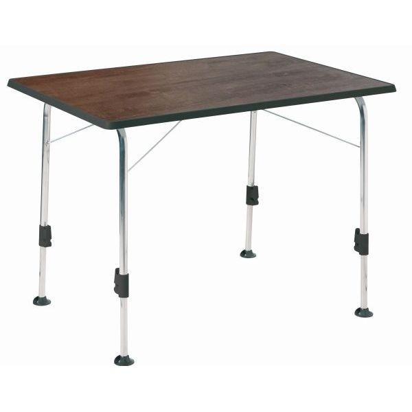 Campingtisch DUKDALF Stabilic II Tisch 100 x 68 cm Holzdekor