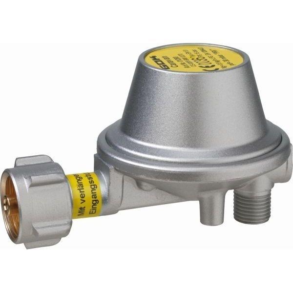 Gasdruckregler GOK L Form 30 mbar 0,8 kg/h mit Sicherheits Abblaseventil