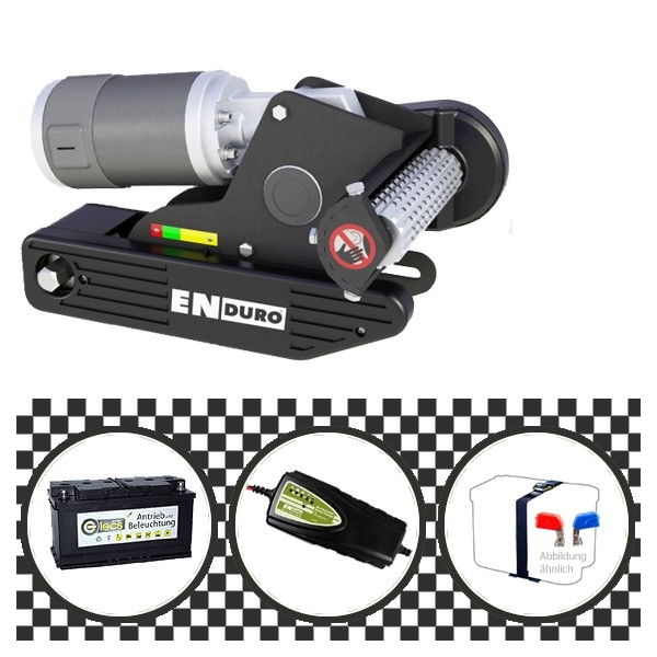Enduro EM203 Rangierhilfe 11825 mit Power Set Black