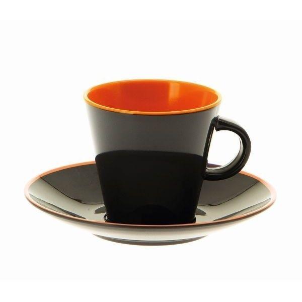 Espresso Set GIMEX grau orange