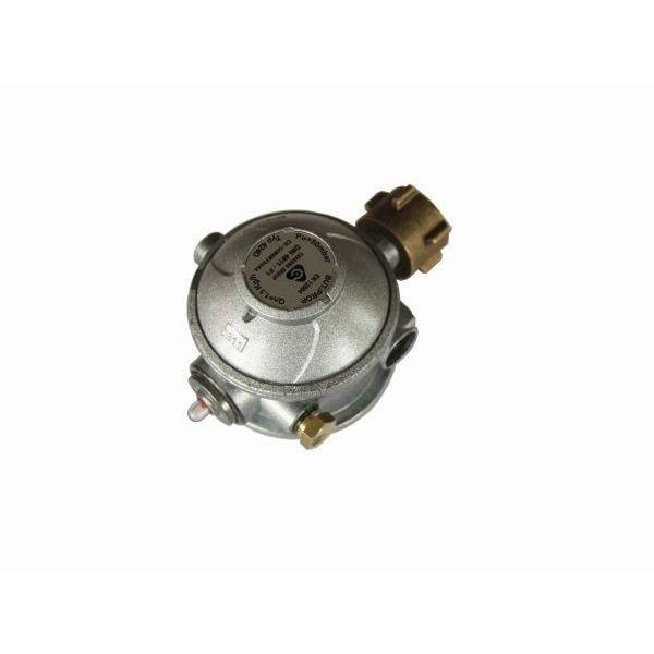 Gasdruckregler 50 mbar 2 stufig Gewerberegler 90° Abgang mit Überdruck Sicherheitseinrichtung