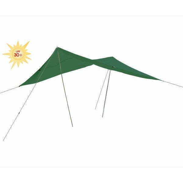 Sonnensegel 300 x 400 cm grün