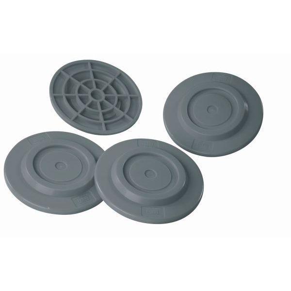 Stützplatten FIAMMA Plates 4er Set rund