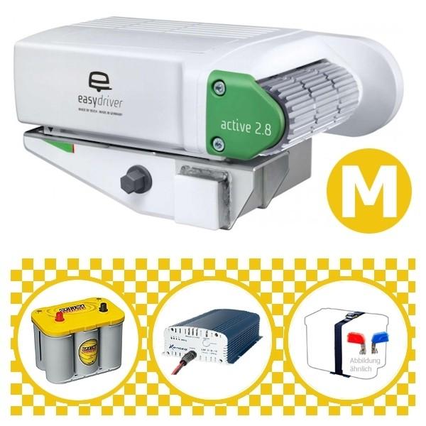 Easydriver active 2.8 Rangierhilfe Reich mit Power Set Yellow M