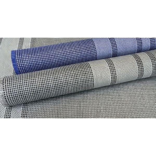 Zeltteppich ARISOL Standard 250 x 500 cm blau