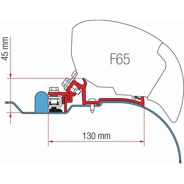 Adapter FIAMMA Kit Iveco Daily H2 für F80 F65