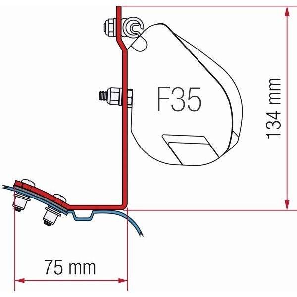 Adapter FIAMMA Kit Mercedes Vito für F35