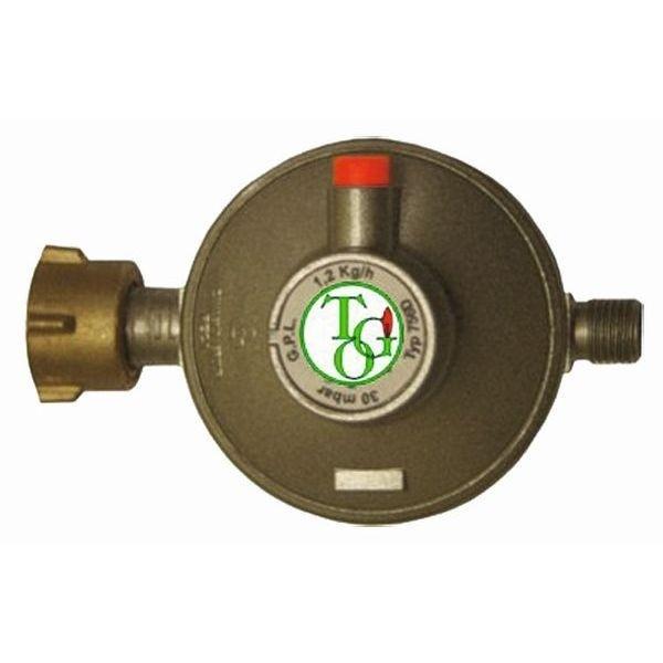 Gasdruckregler TGO 30 mbar Sicherheits Abblaseventil 1,2 kg/h