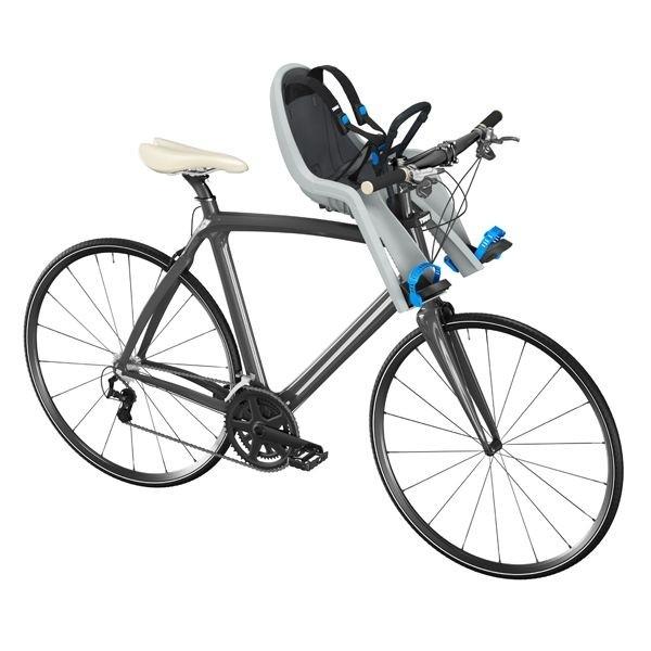 THULE RideAlong Mini Fahrrad-Kindersitz hellgrau