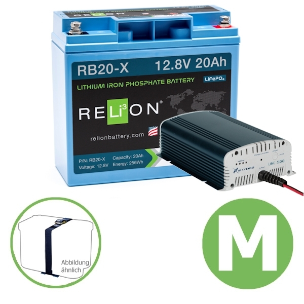 Premium Power Energy Set 20 Ah GREEN M Relion Xenteq
